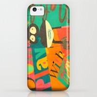 iPhone 5c Cases featuring Dont Play with Matches by Buster Fidez