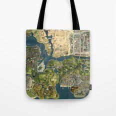 Maps Tote Bag