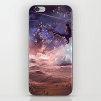 It Made Scars In The Sky… iPhone & iPod Skin