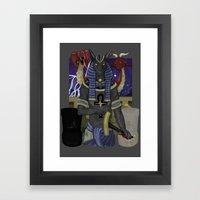 Set Pro Gloria Framed Art Print