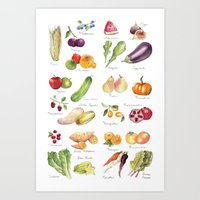 Calendar July-Dec Art Print