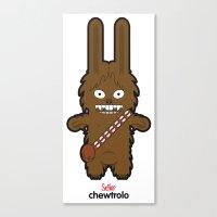 Sr. Trolo / Chewbacca Canvas Print