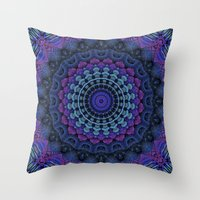 For The Love Of Mandalas Throw Pillow