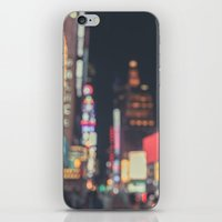 Times Square Abstract iPhone & iPod Skin