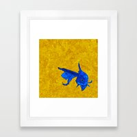 A Fish! A Fish! A Fishy.… Framed Art Print