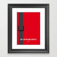 No018 My The Italian Job… Framed Art Print