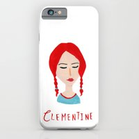iPhone & iPod Case featuring clementine / eternal sunshine of the spotless mind by Maya Bee Illustrations