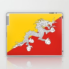 Bhutan country flag Laptop & iPad Skin
