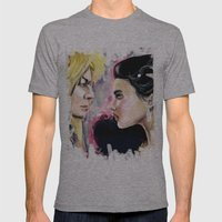Jareth And Sarah Mens Fitted Tee Athletic Grey SMALL
