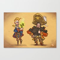 #85 - Tales Of Monkey Is… Canvas Print