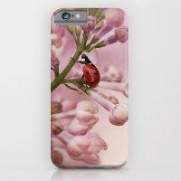iPhone & iPod Case featuring Ladybird on Lilacs by Ellen van Deelen