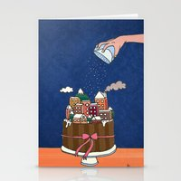 Powdered Sugar, Not Snow… Stationery Cards