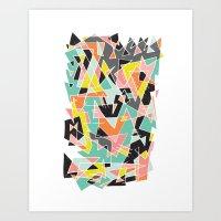 ABSTRACT 3 Art Print