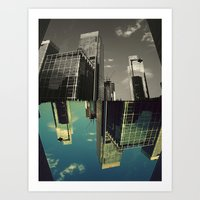 Canary Wharf - Poster, Art Print, Framed Art Print and Canvas  Art Print