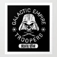 Bad Boy Club: Galactic Empire Troopers Art Print
