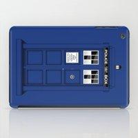 Shadow of the Tardis iPad Case