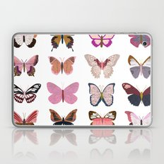 Pink Butterfly Collage Laptop & iPad Skin