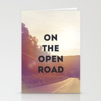 On The Open Road. Stationery Cards