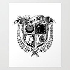 Family Coat of Arms Art Print