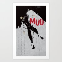 Mud Art Print