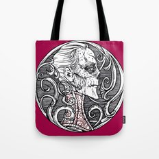 Erik Red Death - Black and White Version  Tote Bag