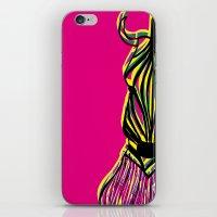 Seeing Zebra iPhone & iPod Skin