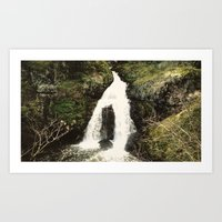 Sitting Lady Falls [16:9… Art Print