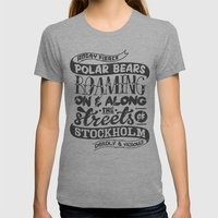 Facts About Sweden N°1 Womens Fitted Tee Athletic Grey SMALL