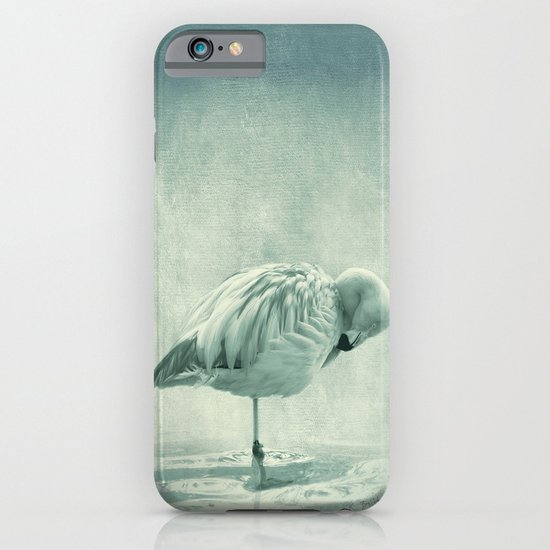 Flamingo Blues iPhone & iPod Case