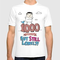 1000 Friends Mens Fitted Tee White SMALL