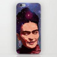 Cosmic Frida iPhone & iPod Skin