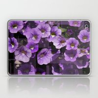 Purple Flower Kaleidoscope Laptop & iPad Skin