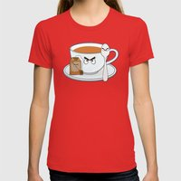 Tea fury Womens Fitted Tee Red SMALL