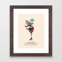 The Drag Queen - A Poster Guide to Gay Stereotypes Framed Art Print