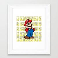 It's A Me Framed Art Print