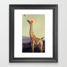 don't let go Framed Art Print