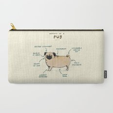 Anatomy of a Pug Carry-All Pouch