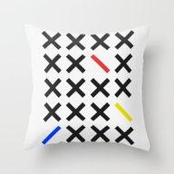 Minimalism 3 Throw Pillow
