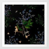 Monkey World: Apy And Vi… Art Print
