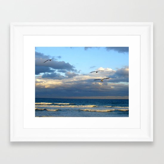 CoffsHarbour 9 Framed Art Print