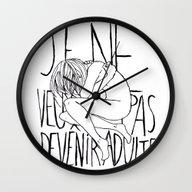 GROW UP. Wall Clock