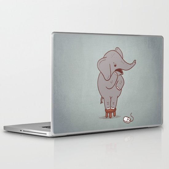 Irrational Fears Laptop & iPad Skin