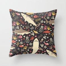 Oceanica Throw Pillow
