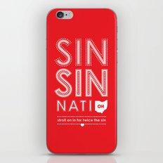 Locals Only — Sinsinnati, OH iPhone & iPod Skin