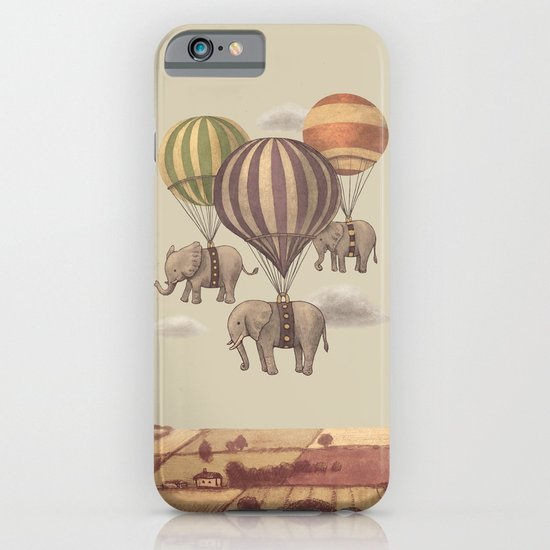 Flight of the Elephants  iPhone & iPod Case