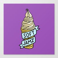 Soft Jamz Canvas Print