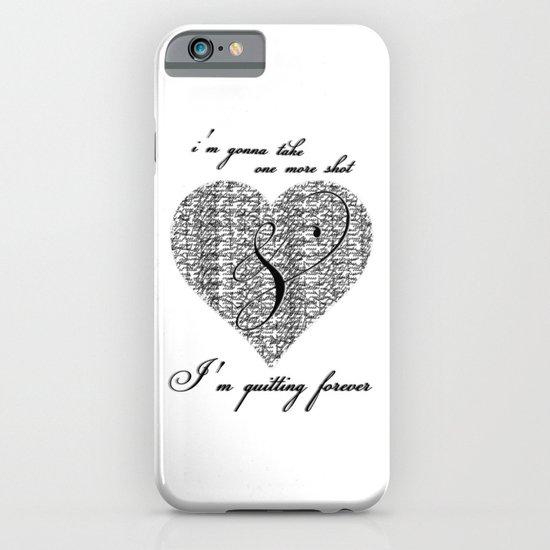 Cross my heart, cross my fingers. iPhone & iPod Case