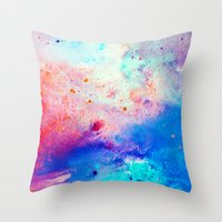 Tides Throw Pillow