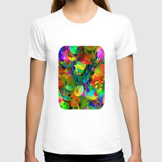 Bouquet Abstract T-shirt
