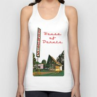 Little House of Donuts Unisex Tank Top